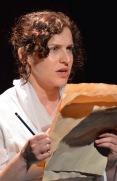 Ashleigh Loeb as Mary Wollstonecraft in